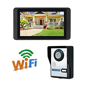 cheap Video Door Phone Systems-WIFI 7 inch Hands-free 1024*600 Pixel One to One video doorphone