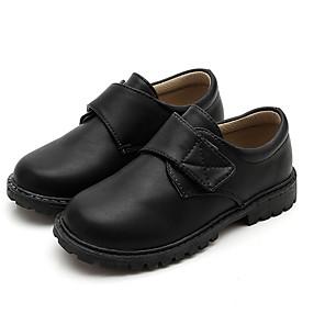 cheap Kids' Oxfords-Boys' Comfort PU Oxfords Little Kids(4-7ys) Black Summer