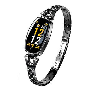 cheap Smartwatches-Women's Smartwatch Digital Modern Style Sporty 30 m Water Resistant / Waterproof Heart Rate Monitor Bluetooth Digital Casual Outdoor - Black Gold Silver