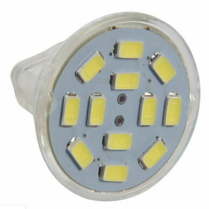 cheap LED Spot Lights-3 W LED Spotlight 250 lm GU4 MR11 12 LED Beads SMD 5730 Warm White Cold White 12 V / 10 pcs