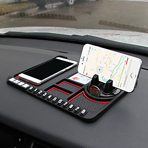 cheap Car Pendants & Ornaments-Multifunctional Car Anti-Slip Mat Non-Slip Phone Sticky Anti Slip Dash Mount Phone Silicone Car Board Mat Pad