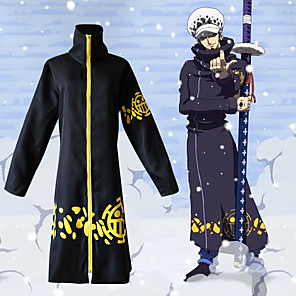 cheap Anime Costumes-Inspired by One Piece·Two Years After Version Cosplay Anime Cosplay Costumes Japanese Cosplay Tops / Bottoms Coat For Men's