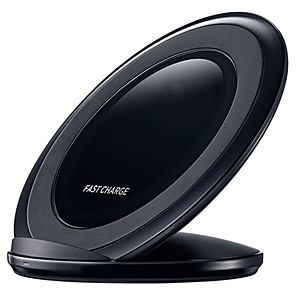 cheap Wireless Chargers-Fast Qi Wireless Charger For Galaxy S9 S10 S8 Plus S7 edge Note 9 8 /iPhone X XR XS 8 /Pad Stand EP-NG930