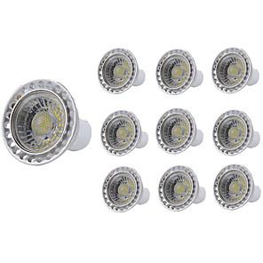 cheap LED Spot Lights-10pcs 5 W LED Spotlight 400 lm GU10 GU10 1 LED Beads COB Decorative Warm White Cold White 85-265 V