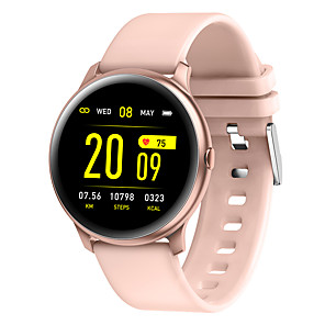 cheap Smartwatches-JSBP HKW19 Smart Watch BT Fitness Tracker Support Notify Full Touch Screen/Heart Rate Monitor Sport Stainless Steel Bluetooth Smartwatch Compatible IOS/Android Phones