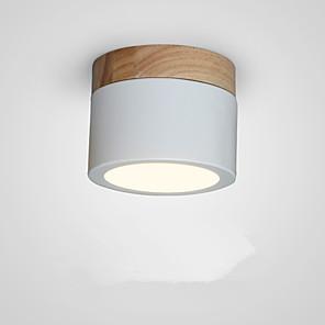 cheap Spot Lights-1-Light 9 cm Flush Mount Lights Metal Painted Finishes Nordic Style 110-120V / 220-240V