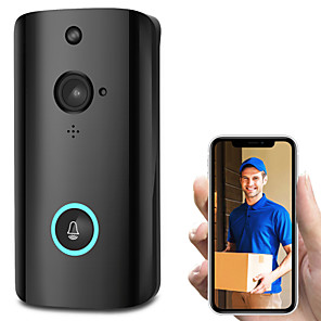 cheap Video Door Phone Systems-Wireless Smart WiFi Audio Video Door Bell Remote Phone Intercom