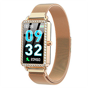 cheap Smartwatches-Smartwatch Digital Modern Style Sporty 30 m Water Resistant / Waterproof Heart Rate Monitor Bluetooth Digital Casual Outdoor - Gold Silver Blue
