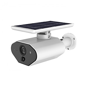 cheap Outdoor IP Network Cameras-Strongshine Solar Powered Home Security Camera Wireless 960P 1.3MP Surveillance With Motion Detection