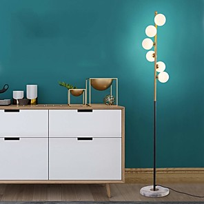 cheap Cocktail Dresses-Floor Lamp Ambient Lamps / Decorative Modern Contemporary For Bedroom / Study Room / Office Metal 110-120V / 220-240V