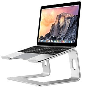cheap Stands & Cooling Pads-Laptop Riser Stand Universal Detachable Portable Aluminum Alloy Notebook PC Desk Holder