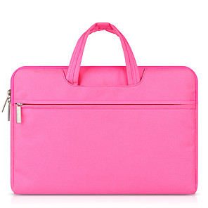 cheap Sleeves,Cases & Covers-11.6 Inch Laptop / 12 Inch Laptop / 13.3 Inch Laptop Sleeve / Briefcase Handbags Polyester Solid Color Unisex Water Proof