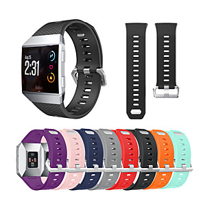 cheap Smartwatch Bands-Watch Band For Fitbit ionic Fitbit Sport Band / Classic Buckle Silicone Wrist Strap
