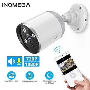 cheap Outdoor IP Network Cameras-INQMEGA 720P 1080P WIFI IP Camera Bullet ONVIF Outdoor Waterdichte CCTV Security Camera Two Way Audio APP Remote View TF Card