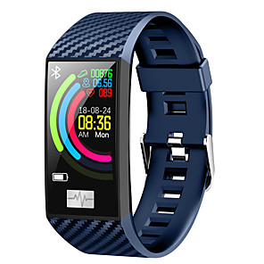 cheap Smartwatches-DT NO.1 DT58 1.14 Inch Large Screen Smart Watch Multi UI Display ECG Heart Rate Monitor IP68 Waterproof Watch