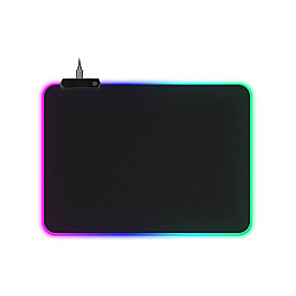 cheap Mouse Pad-RGB Gaming Mouse Pad Large Mouse Pad Gamer Led Computer Mousepad Big Mouse Mat with Backlight Carpet For keyboard Desk Mat Mause 250*350*4