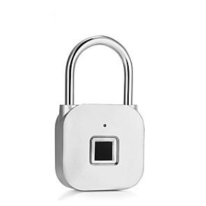 cheap Fingerprint Padlock-Factory OEM E1 Zinc Alloy Fingerprint Padlock Smart Home Security System Fingerprint unlocking Home / Office / School Others (Unlocking Mode Fingerprint)