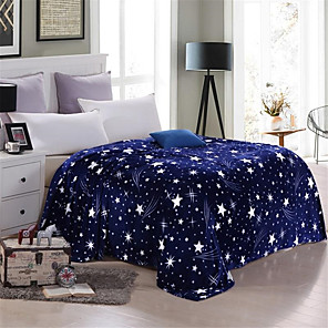 cheap Floral Duvet Covers-Bed Blankets, Floral / Print Polyester Soft Comfy Blankets