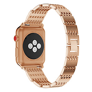 cheap Other Phone Case-Watch Band for Apple Watch Series 4/3/2/1 Apple Butterfly Buckle Stainless Steel Wrist Strap
