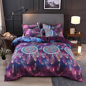 cheap Duvet Covers-Dreamcatcher Bedding Set for comforter Colourful Animal Cartoon Duvet Cover with Pillow Cases Twin Full Queen King Size Kids new