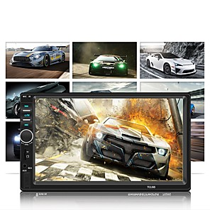 billige Lydanlæg til bilen-SWM 7018B+4LED camera 7 inch 2 Din Andre OS Bil MP5 Player Touch-skærm / MP3 / Indbygget bluetooth for Universel RCA / MikroUSB / Andet Support MPEG / MPG / WMV mp3 / WMA / ALAC jpeg / BMP / PNG