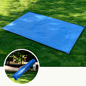 cheap Sleeping Bags & Camp Bedding-Naturehike Tent Tarps Camping Shelter Outdoor Camping Waterproof Portable Sunscreen UV Resistant Oxford PU(Polyurethane) 215*150 cm for 2 person Camping / Hiking Fishing Beach Spring Summer Fall