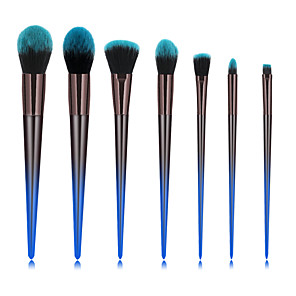 cheap Makeup Brush Sets-Professional Makeup Brushes 7pcs Soft New Design Full Coverage Color Gradient Comfy Plastic for Makeup Set Makeup Tools Makeup Brushes Blush Brush Foundation Brush Makeup Brush Lip Brush Eyeshadow