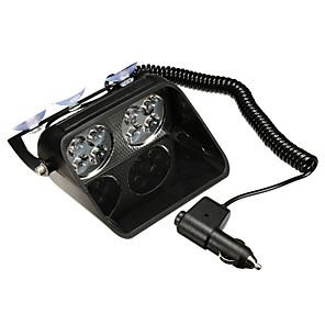 cheap Warning Lights-1pcs LED Windshield Warning Light Car Flash Police Beacon Emergency Strobe Signal Windscreen Lamp 12V