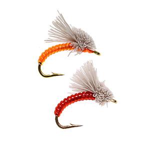 cheap Fishing Lures & Flies-8 pcs Flies Flies Sinking Bass Trout Pike Fly Fishing Metal
