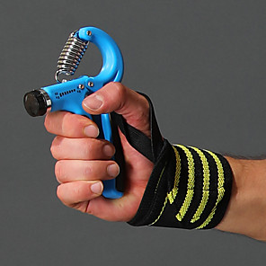 cheap Fitness Gear & Accessories-Hand Grip Strengthener Sports PP+ABS Exercise & Fitness Gym Workout Adjustable Resistance 5-60kg Strength Trainer Finger Strength Hand Exerciser For Men Wrist Forearm Outdoor Home Office / Adults'