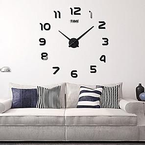 """baratos Pinturas Abstratas-Relógio de parede, moda diy acrílico redondo interior 100 * 100cm (39&* 39"""")"""