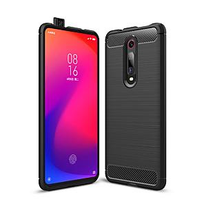 cheap Xiaomi Case-Case For Xiaomi Mi 9T Pro / 9 /8 Lite / SE / Explorer / 6 Shockproof / Dustproof Back Cover Solid Colored Carbon Fiber