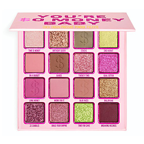 cheap Eyeshadows-YOU'RE SO MONEY BABY  PRESSED POWDER PALETTEMakeup 12 Colors Eyeshadow