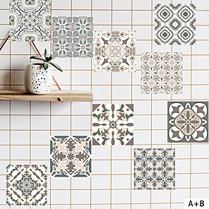 cheap Wall Stickers-Holiday / 3D Wall Stickers Plane Wall Stickers / 3D Wall Stickers Decorative Wall Stickers, Vinyl Home Decoration Wall Decal Wall / Floor Decoration 6pcs