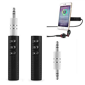 cheap Bluetooth Car Kit/Hands-free-BT-450 V3.0 Bluetooth Receiver / Portable / Wireless Handsfree Bluetooth Truck / Car / SUV Car Aux Adapter & Bluetooth for Music Streaming Sound System and Audio Stereo System
