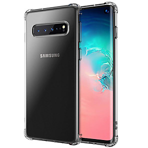 cheap Samsung Case-Case for Samsung Galaxy S10 S10E S10 Plus Shockproof Full Body Cases Transparent TPU S9 S9 Plus S8 S8 Plus