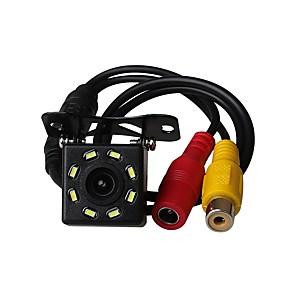 cheap Car Rear View Camera-ZIQIAO Universal 8 LED Car Night Vision Reverse Monitoring Automatic Parking Waterproof 170-degree HD Video Backup Camera