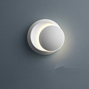 cheap Flush Mount Wall Lights-Lovely Modern Contemporary Wall Lamps & Sconces Indoor Metal Wall Light IP44 220-240V 5 W