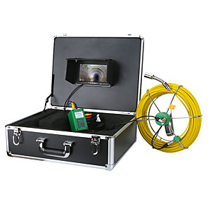 cheap CCTV Cameras-MOUNTAINONE F9200D 30M 7inch DVR sewer pipe inspection camera 1/3 Inch CMOS Endoscope camera IP68