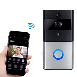 cheap Video Door Phone Systems-Factory OEM HH-D05 WIFI Recording No Screen(output by APP) Telephone One to One video doorphone