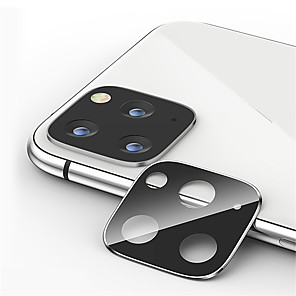 cheap iPhone Screen Protectors-Metal Camera Lens Protector for Apple iPhone 11 / 11 Pro/ 11 Pro Max Tempered Glass High Definition (HD)