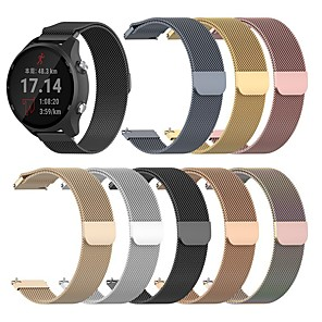 cheap Smartwatch Bands-Watch Band for Huawei Watch GT2 46mm / Huawei Watch GT2 42mm Huawei Milanese Loop Stainless Steel Wrist Strap