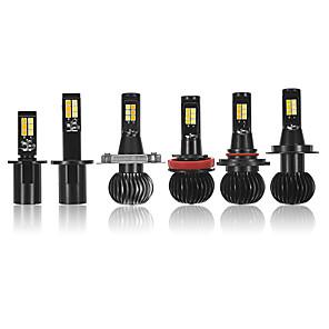 cheap TV Boxes-Pair X5 30W 2400LM Car LED Fog Lights Bulbs Motor Headlights H1 H3 H4 H7 H8/H11 9005/9006 Dual Color