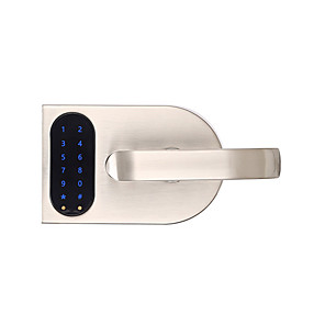 cheap Door Locks-Factory OEM OS108B Stainless Steel Intelligent Lock / Card Lock / Password lock Smart Home Security Android System Password unlocking / APP unlocking Home / Office / Hotel Wooden Door (Unlocking Mode