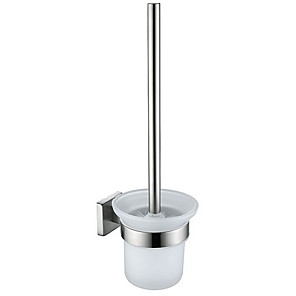cheap Bathroom Gadgets-Toilet Brush Holder New Design / Cool Modern Stainless Steel 1pc Wall Mounted