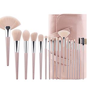 cheap Makeup Brush Sets-Professional Makeup Brushes 18pcs Cute Soft New Design Comfy Wooden / Bamboo for Makeup Brush