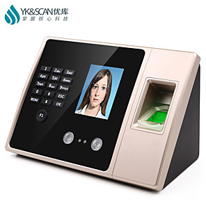 cheap Door Locks-Fingerprint Time Attendance Face Recognition Biometric Machine Multiple Verification Password ID Card Identification Aeecss Control Funtion Infrared Dual Camera