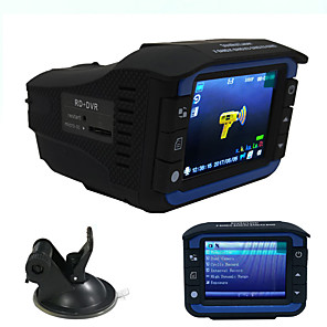 cheap Car DVR-Cross-border dedicated for two-in-one car recorders on-board electronic dog detector radar speed mobile warning instrument voice broadcast safety instrument