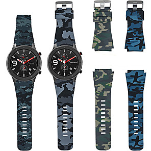 cheap Smartwatch Bands-Sport Silicone Watch Band Wrist Strap for Huami Amazfit GTR 47mm / Amazfit Stratos 2 2S / Amazfit Pace Watch Bracelet Replaceable Wristband