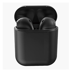 cheap On-ear & Over-ear Headphones-LITBest I12 Inpods Pop-up TWS True Wireless Earbuds Wireless Stereo with Microphone with Volume Control with Charging Box Waterproof IPX4 Earbud
